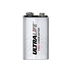 10 Jahres baterie Lithium Ultralife pro detektor kouře Typ CR-V9 (doprava zdarma u objednávek nad 1000 Kč!)