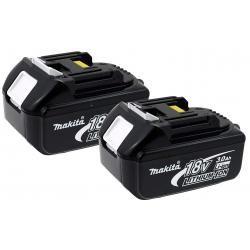 2 x aku baterie pro nářadí Makita Typ BL1830 3000mAh originál (2ks Set) (doprava zdarma!)