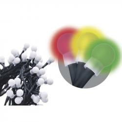 80 LED dekor. osvětlení - kulička 8M multicolor, časovač (doprava zdarma u objednávek nad 1000 Kč!)