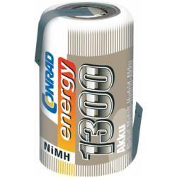 Akumulátor NiMH Conrad Energy 2/3 A, 1300 mAh, s pájecími kontakty (doprava zdarma u objednávek nad 1000 Kč!)