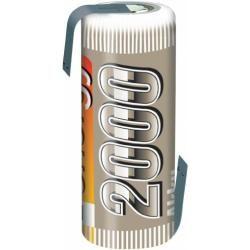 Akumulátor NiMH Conrad Energy 4/5 A, 2000 mAh, s pájecími kontakty (doprava zdarma u objednávek nad 1000 Kč!)
