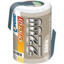 Akumulátor NiMH Conrad Energy 4/5 Sub-C, 2200 mAh, s pájecími kontakty (doprava zdarma u objednávek nad 1000 Kč!)