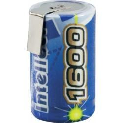 Akumulátor NiMH Intellect 2/3 A, 1600 mAh, s pájecími kontakty (doprava zdarma u objednávek nad 1000 Kč!)