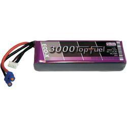 Akupack LiPol Hacker, 14,8 V, 3000 mAh, 20 C, EC3 / XH (doprava zdarma!)
