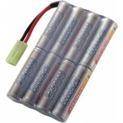 Akupack NiMH Conrad Energy AA, 9,6 V, 2300 mAh, Stick, Mini-Tamiya (doprava zdarma u objednávek nad 1000 Kč!)