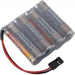 Akupack přijímače NiMH Conrad Energy AA, 4,8 V, 1800 mAh, Side by Side, JR (doprava zdarma u objednávek nad 1000 Kč!)