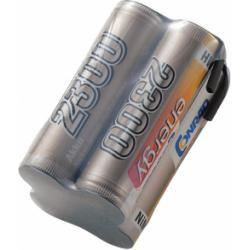 Akupack přijímače NiMH Conrad Energy AA, 4,8 V, 2300 mAh, Block, s páj. hroty (doprava zdarma u objednávek nad 1000 Kč!)