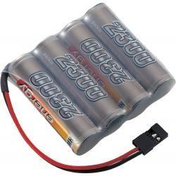 Akupack přijímače NiMH Conrad Energy AA, 4,8 V, 2300 mAh, Side by Side, JR (doprava zdarma u objednávek nad 1000 Kč!)