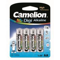 baterie Camelion Digi alkalická LR6 tužková AA pro Digitalkameras/4ks balení originál (doprava zdarma u objednávek nad 1000 Kč!)