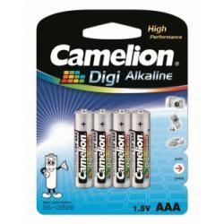 baterie Camelion Digi alkalická MN2400 HR03 pro Digitalkameras/4ks balení originál (doprava zdarma u objednávek nad 1000 Kč!)