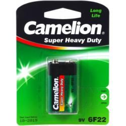 baterie Camelion Super Heavy Duty 6F22 9-V-Block 1ks balení originál (doprava zdarma u objednávek na