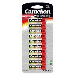 baterie Camelion tužková LR6 AA Plus alkalická 10ks balení originál (doprava zdarma u objednávek nad 1000 Kč!)
