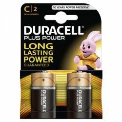 baterie Duracell Plus MN1400 LR14 Baby 2ks balení originál (doprava zdarma u objednávek nad 1000 Kč!)