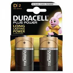 baterie Duracell Plus Typ D 2ks balení originál (doprava zdarma u objednávek nad 1000 Kč!)