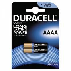 baterie Duracell Ultra MN2500 LR61 Piccolo AAAA 2ks balení originál (doprava zdarma u objednávek nad 1000 Kč!)