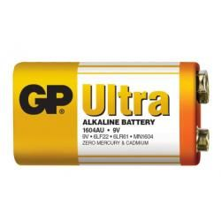baterie GP 9V Ultra alkalická (doprava zdarma u objednávek nad 1000 Kč!)