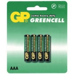 baterie GP AAA GreenCell 24G R03 blistr (doprava zdarma u objednávek nad 1000 Kč!)