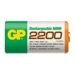 baterie GP R20 D 2200mAh NiMh velké mono (doprava zdarma u objednávek nad 1000 Kč!)