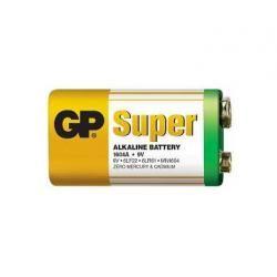 baterie GP Super alkalická 9V (doprava zdarma u objednávek nad 1000 Kč!)