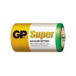 baterie GP Super Alkaline D R20 velké mono (doprava zdarma u objednávek nad 1000 Kč!)