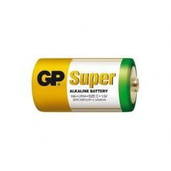baterie GP Super Alkaline R14 (doprava zdarma u objednávek nad 1000 Kč!)