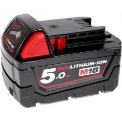 baterie pro bruska přímá Milwaukee HD18 SG-0 5,0Ah originál (doprava zdarma!)