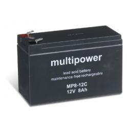 baterie pro čistící stroje, nouzové napájení (UPS) 12V 8Ah (hluboký cyklus) (doprava zdarma u objednávek nad 1000 Kč!)