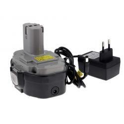 aku baterie pro Makita příklepový vrtací šroubovák 8444DWFE Li-Ion vč. integrovaného nabíječe (doprava zdarma!)