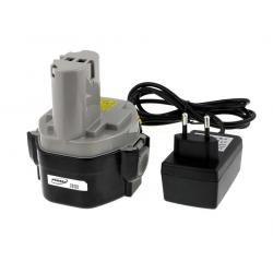 baterie pro Makita vrtací šroubovák 6339DWFE Li-Ion vč. integrovaného nabíječe (doprava zdarma!)