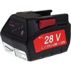 baterie pro Milwaukee úhlová bruska HD28AG 2000mAh (doprava zdarma!)