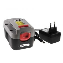 baterie pro nářadí Black & Decker šroubovák HP146F2K Li-Ion vč. nabíječky (doprava zdarma!)