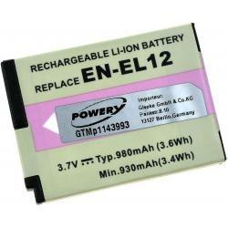 baterie pro Nikon Typ EN-EL12 (doprava zdarma u objednávek nad 1000 Kč!)