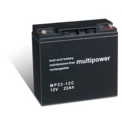 baterie pro nouzové napájení (UPS) 12V 22Ah (nahrazuje také 17Ah, 18Ah, 19Ah) hluboký cyklus (doprava zdarma!)