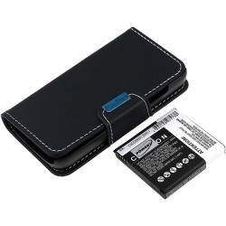 baterie pro Samsung Galaxy S IV Duos 5200mAh s Flip-Cover (doprava zdarma!)