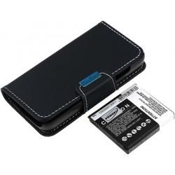 baterie pro Samsung Galaxy S4 LTE 5200mAh s Flip-Cover (doprava zdarma!)