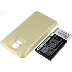 baterie pro Samsung Galaxy S5 Gold 5600mAh (doprava zdarma u objednávek nad 1000 Kč!)