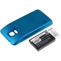 baterie pro Samsung Galaxy S5 Mini 3800mAh modrá (doprava zdarma u objednávek nad 1000 Kč!)