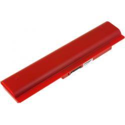 baterie pro Samsung NP-N310-KA06US/N310-13GO 6600mAh červená (doprava zdarma!)