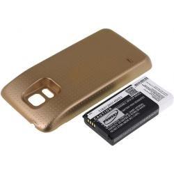 baterie pro Samsung SM-G800F 3800mAh Gold (doprava zdarma u objednávek nad 1000 Kč!)