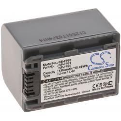 baterie pro Sony DCR-DVD105E 1500mAh (doprava zdarma u objednávek nad 1000 Kč!)