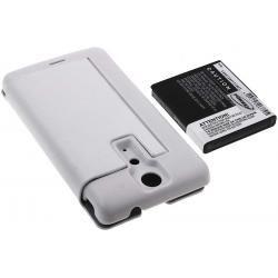 baterie pro Sony Ericsson Xperia LT29i 3400mAh + Flip Cover bílá (doprava zdarma u objednávek nad 1000 Kč!)