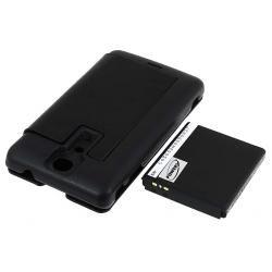 baterie pro Sony-Ericsson Xperia LT29i 3400mAh + Flip Cover černá (doprava zdarma u objednávek nad 1000 Kč!)