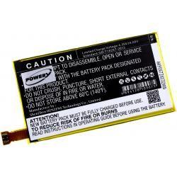baterie pro Sony Ericsson Xperia ZL2 SOL25 (doprava zdarma u objednávek nad 1000 Kč!)