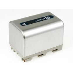 aku baterie pro Sony Videokamera DCR-DVD101 3400mAh stříbrná (doprava zdarma u objednávek nad 1000 Kč!)