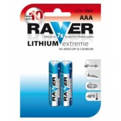 baterie Raver FR03 AAA lithium (doprava zdarma u objednávek nad 1000 Kč!)