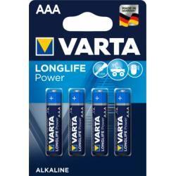 baterie Varta Typ AAA 4ks balení originál (doprava zdarma u objednávek nad 1000 Kč!)