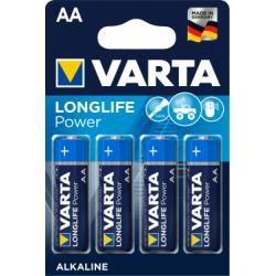 baterie Varta Typ LR6 4ks balení originál (doprava zdarma u objednávek nad 1000 Kč!)