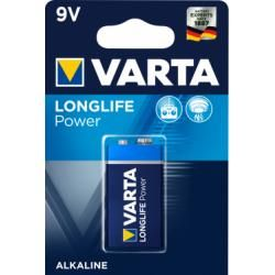 baterie Varta Typ PP3 9V 1ks balení originál (doprava zdarma u objednávek nad 1000 Kč!)