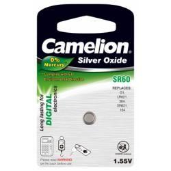 Camelion baterie pro hodinky SR60/SR60W / G1 / LR621 / 364/164 / SR621 1ks balení originál (doprava