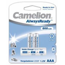 Camelion HR03 Micro AAA AlwaysReady 2ks balení 800mAh originál (doprava zdarma u objednávek nad 1000 Kč!)